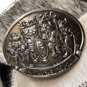 Collectible Funny Pig belt buckle